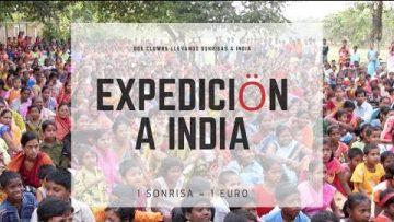 1 Sonrisa = 1 Euro: el proyecto de dos payasos para llevar sonrisas a la India
