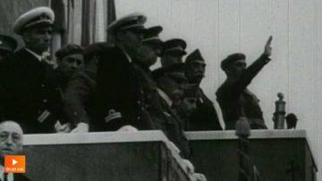 El desfile de la victoria del 1 de abril de 1939 (Noticiario Español)
