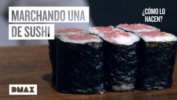 Así se hace el alga nori del sushi (Cómo lo Hacen)