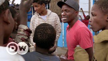 De niño de la calle en África a maestro en Hamburgo
