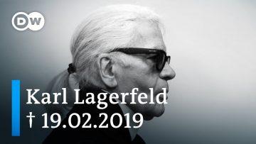 El diseñador alemán Karl Lagerfeld