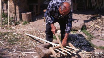 El forcaire – Fabricación artesanal de una horca (Oficios Perdidos)