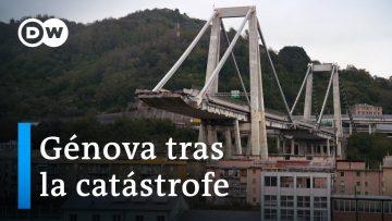 Italia: El desplome del viaducto Morandi