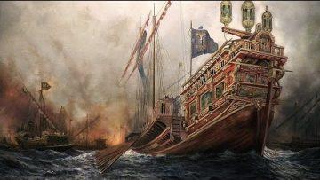 La batalla de Lepanto – La mayor batalla naval de la historia