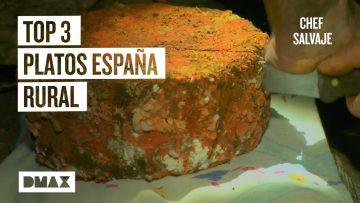 Top 3 comida española tradicional: recetas caseras y raras (Chef Salvaje)