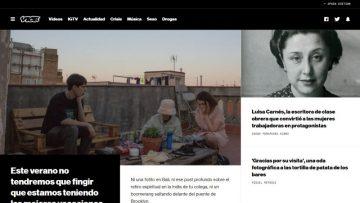Vice, la plataforma que te ofrece innovadores reportajes sobre temas interesantes